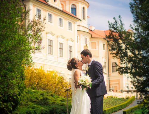 Svatba na zámku Chateau Baroque