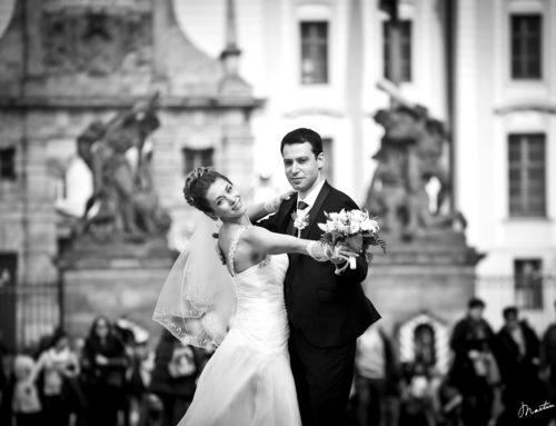 Tanec na Pražském hradě